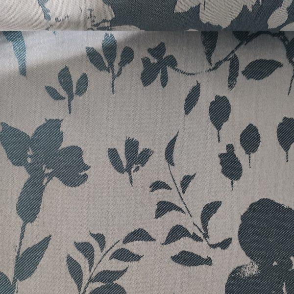 Рулонные шторы Ирисы голубой
