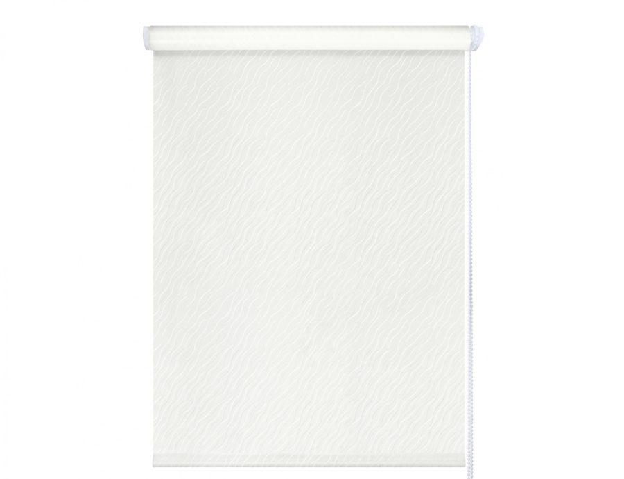 Рулонные шторы Бриз белые