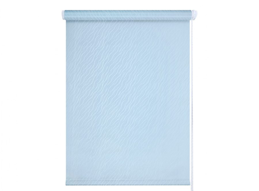 Рулонные шторы Бриз голубые