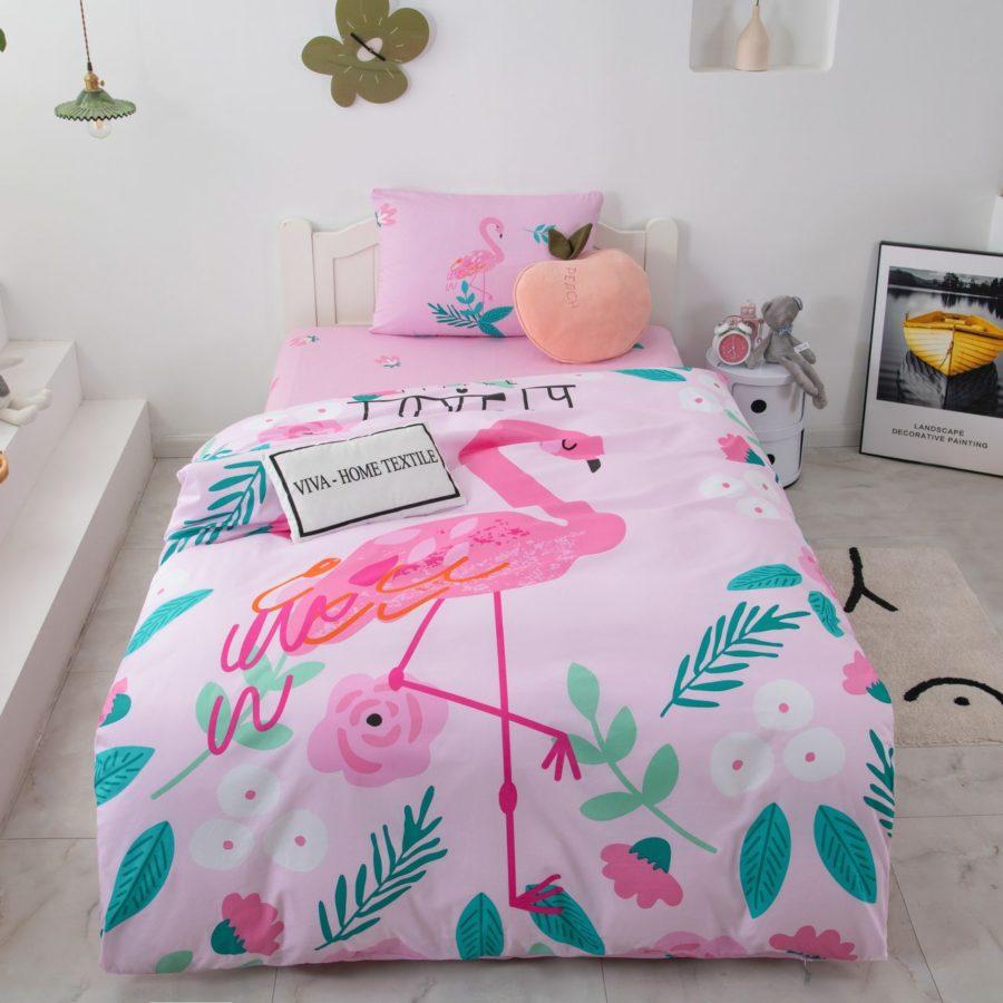 Постельное белье для детей Фламинго