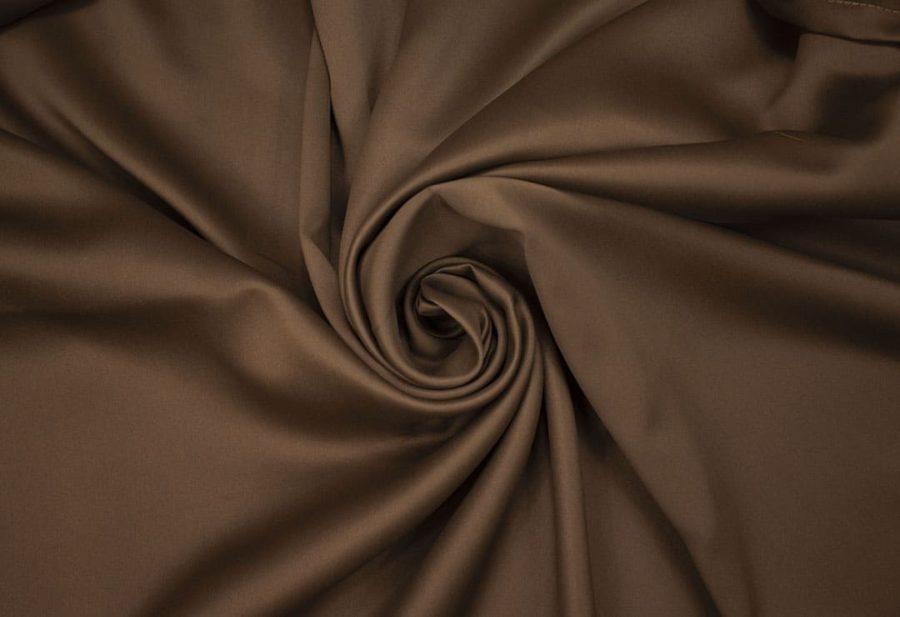 Штора Блэкаут шоколад