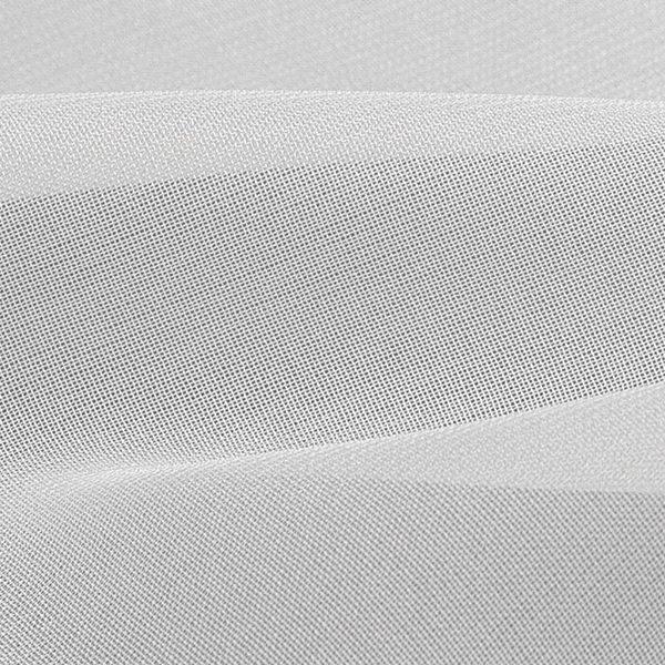 Тюль вуаль шелк белая нити