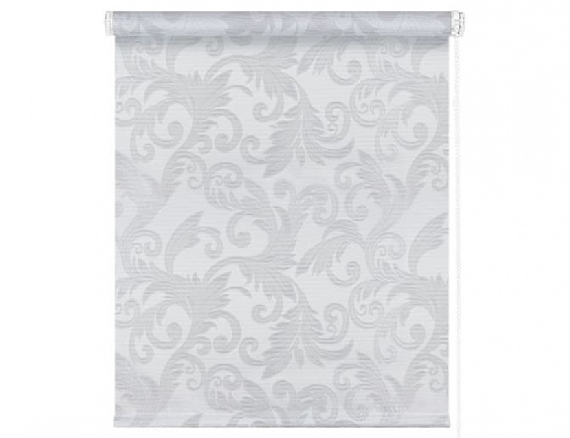 Рулонные шторы Севилия Серебро