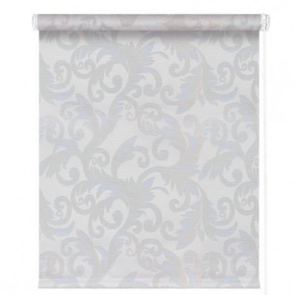 Рулонные шторы Севилия голубой