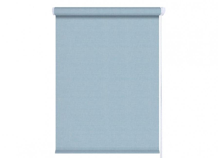 Рулонные шторы Джинс голубой