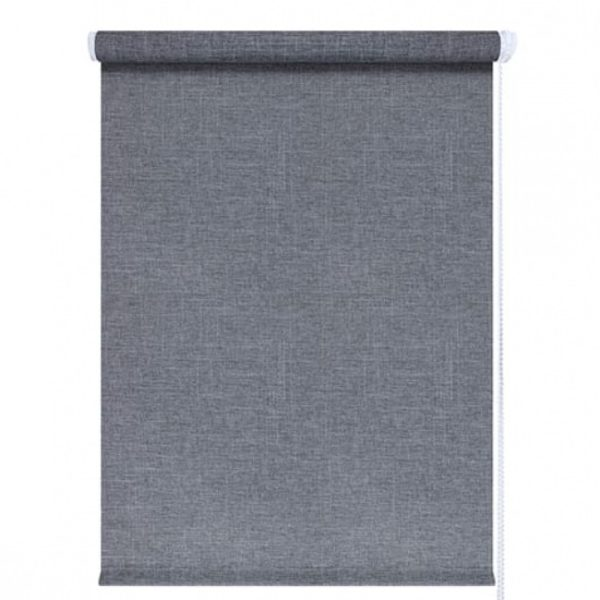 Рулонные шторы Джинс серый