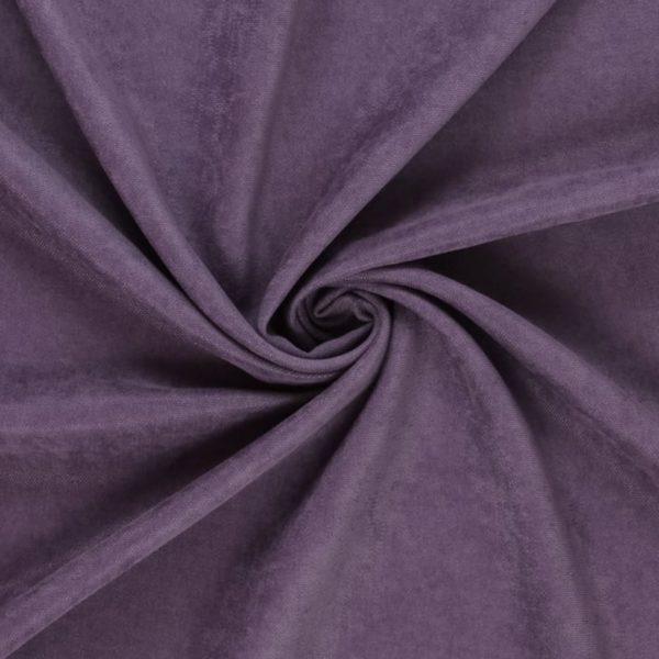 Штора Канвас фиолетовая