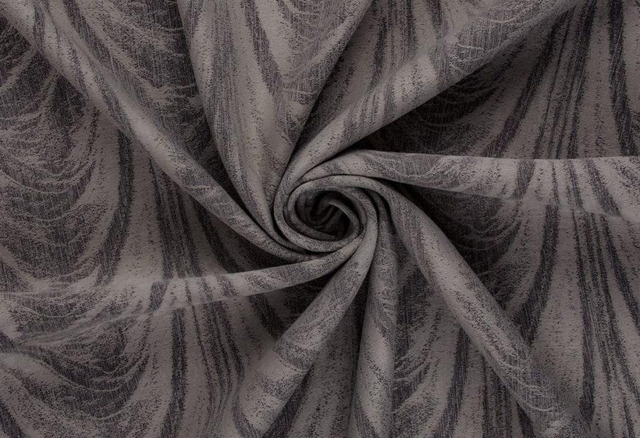 Штора Каскад серый