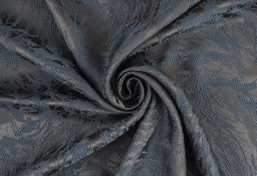 Штора Дюна коричнево-синий
