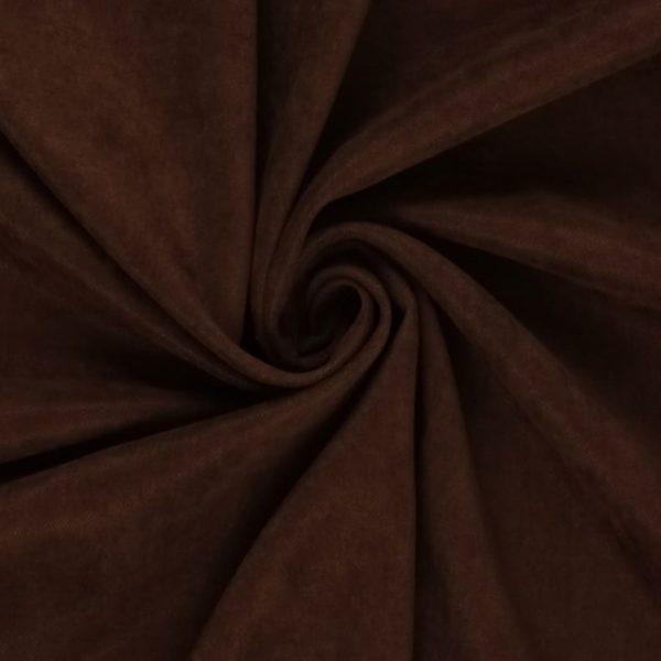 Портьера Канвас шоколад