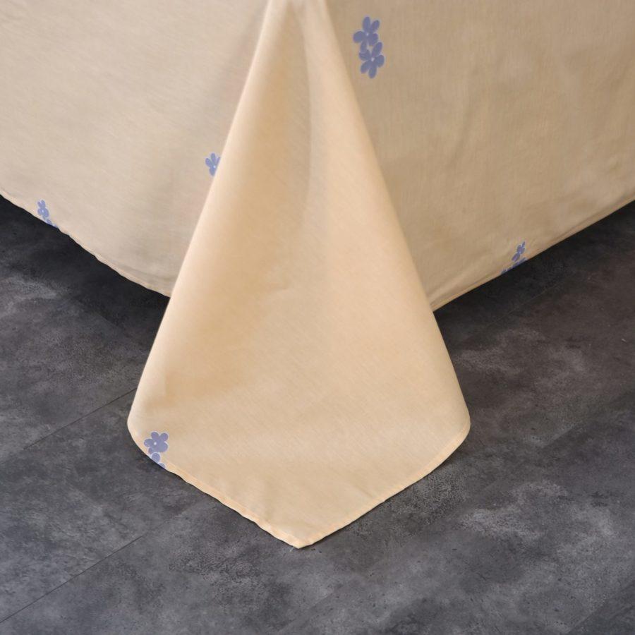 Комплект постельного белья сатин хлопок Романтика простынь