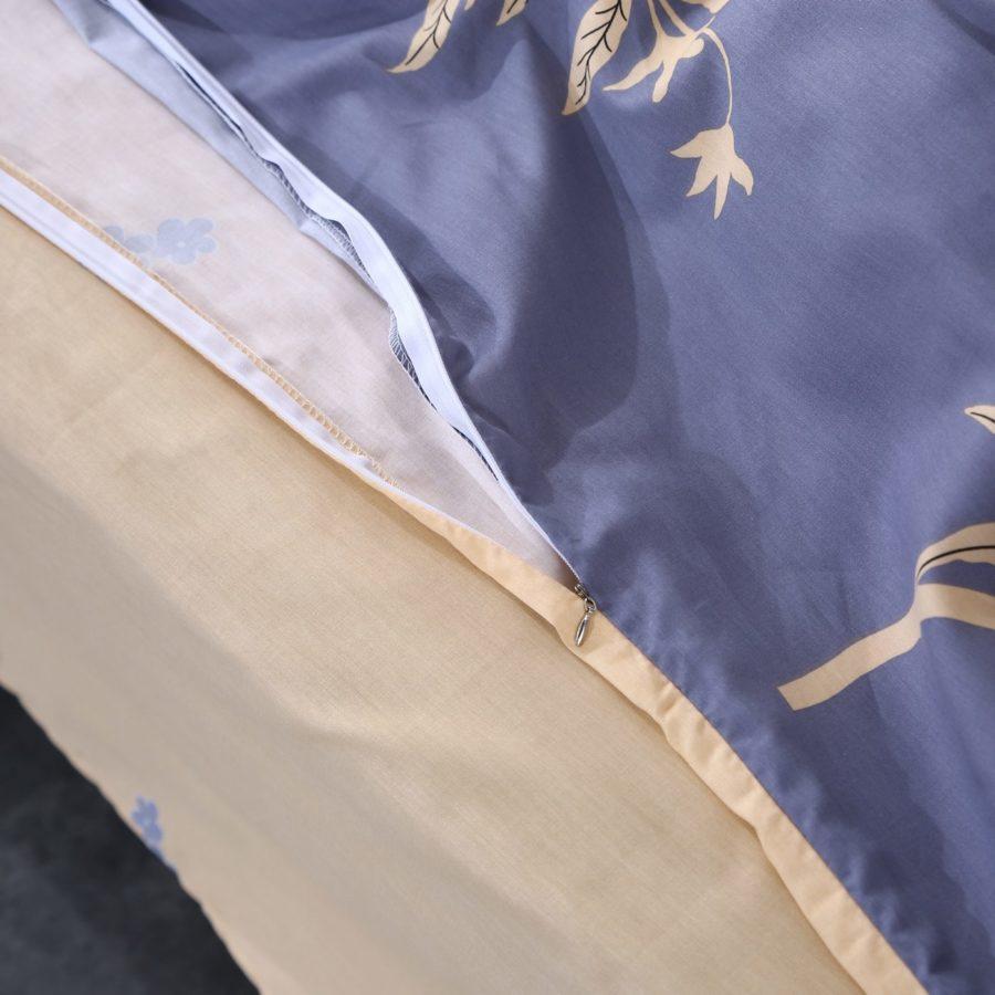 Комплект постельного белья сатин хлопок Романтика молния