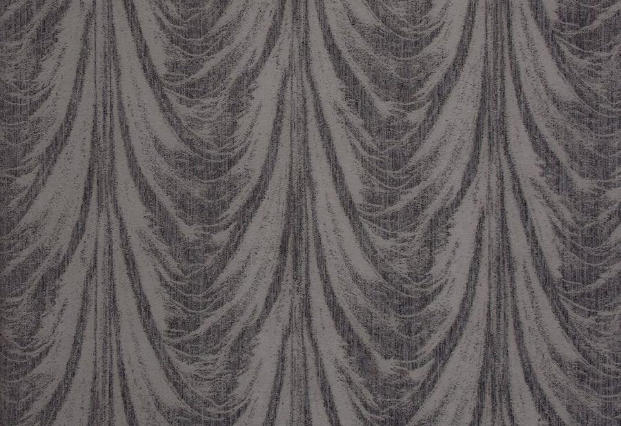 Портьера Каскад серый