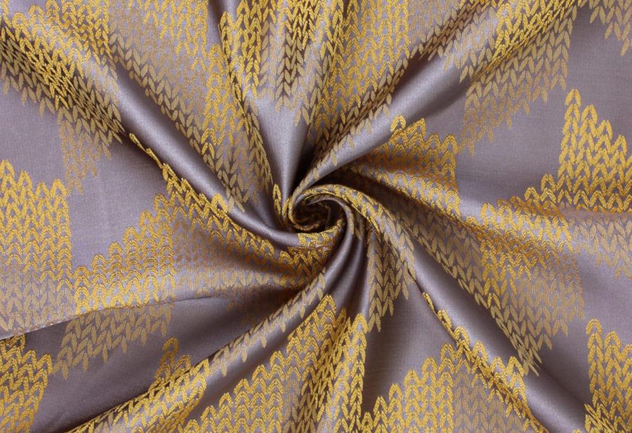 Портьера Этери желтый