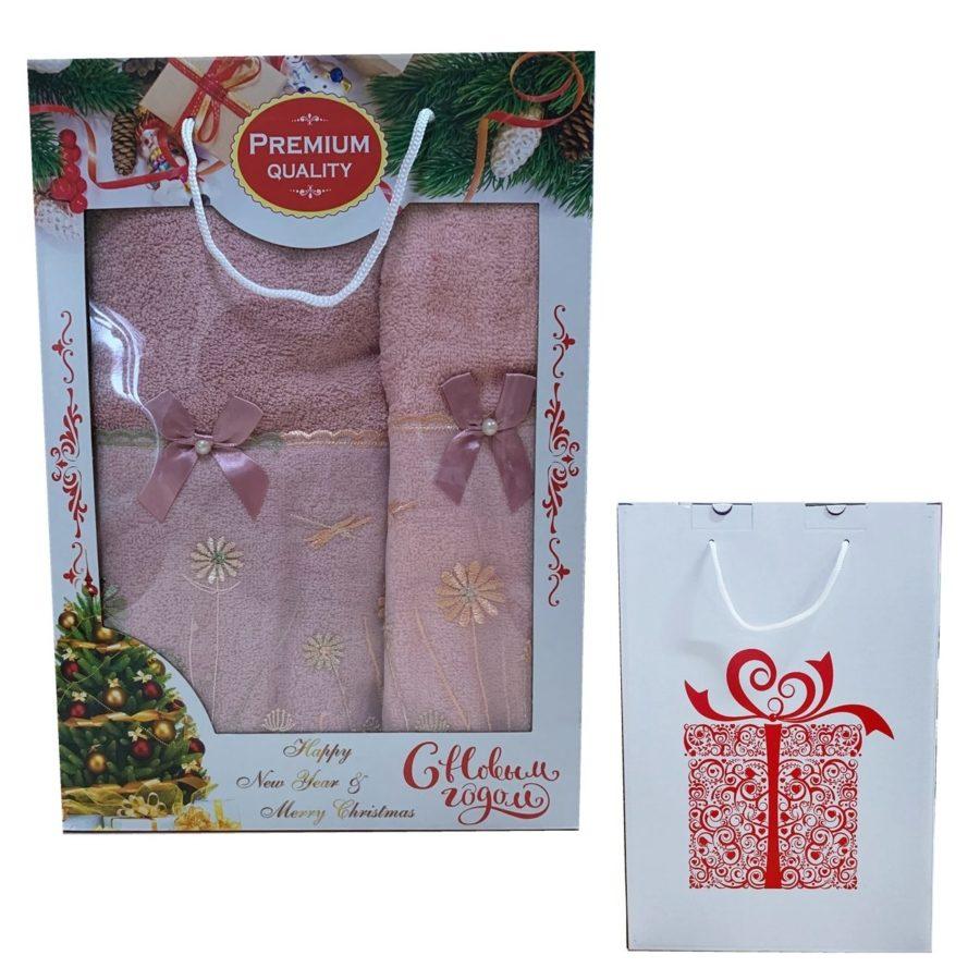 Набор полотнецец в новогодней упаковке