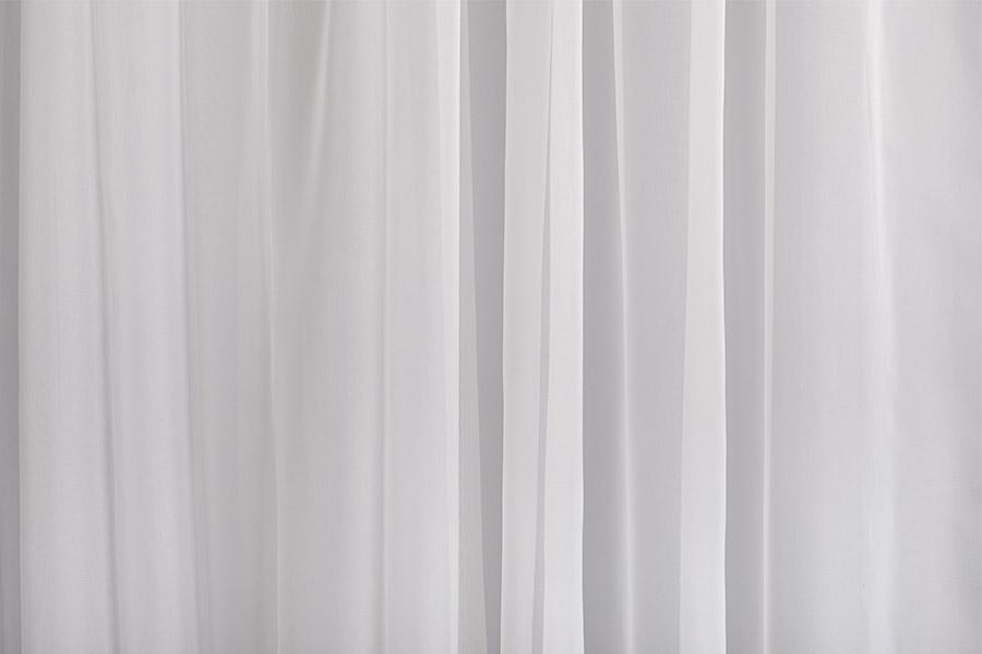 Тюль вуаль белый волны