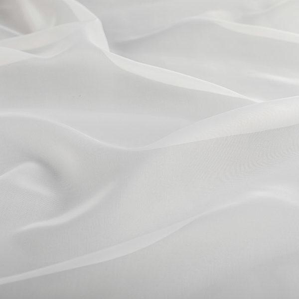 Тюль молочная вуаль классическая
