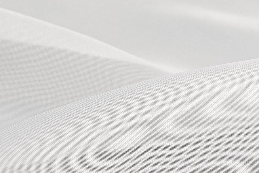 Тюль вуаль молочный нити