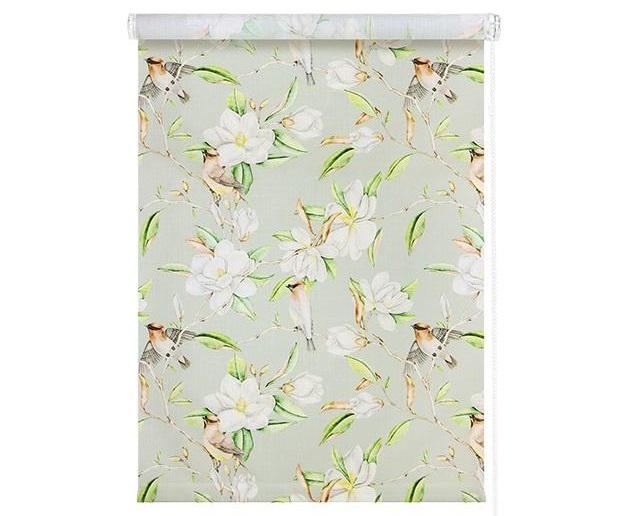 Рулонные шторы с рисунком Райский сад