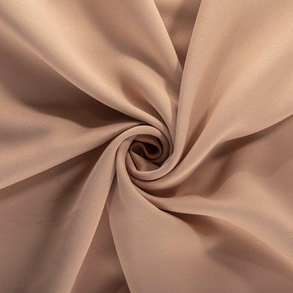 Шторы Блэкаут пудровые светло-розовые